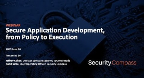 Webinar: Secure Application Development from Policy to Procedure