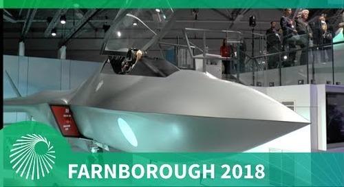 Farnborough 2018: Tempest Fighter Jet launch