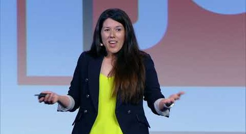 #JOIN19 Keynote - Looker Staff Product Manager Sondra Orozco Onstage at JOIN 2019: Data Foundation