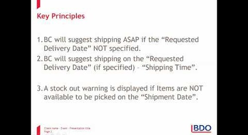 Dates in Dynamics 365 Business Central: Sales Order