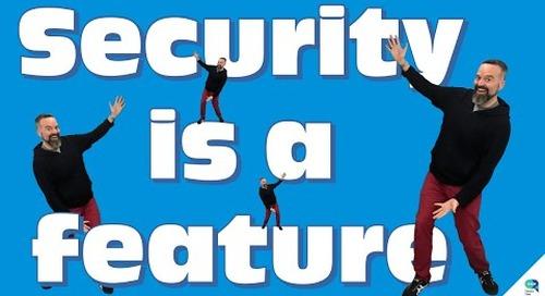Tanzu Talk: Security is a feature