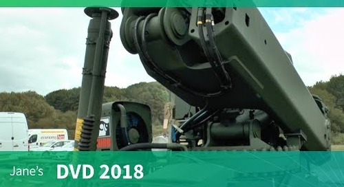 DVD 2018: Military load-handling solutions from Hiab
