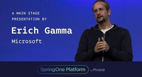 Erich Gamma, Microsoft at SpringOne Platform 2017