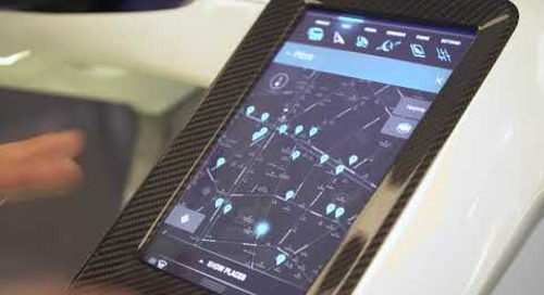 In-Vehicle Infotainment System of the World's Fastest Electric Supercar, Rimac