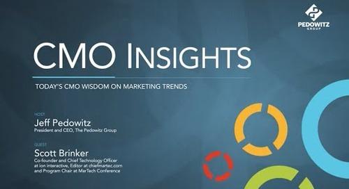 CMO Insights: Scott Brinker, Ion Interactive, Chiefmartec.com