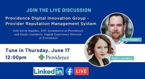 Providence Digital Innovation Group - Provider Reputation Management System