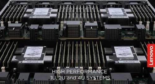 Lenovo ThinkAgile HX Solutions for the Data Center