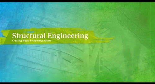 Structural Engineering: Creating magic by bending nature