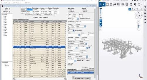 Trimble Connect as the Tekla EPM Estimating Model Viewer