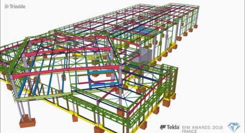Tekla France BIM Awards 2018 - SICOM : P.P.R.V.