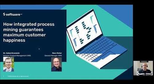 How integrated process mining guarantees maximum customer happiness