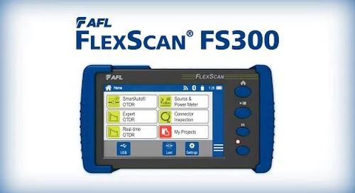 FlexScan® FS300 Quad OTDR