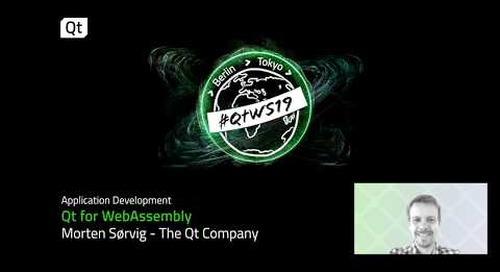 WEBASM with Qt - Qt for  WebAssembly
