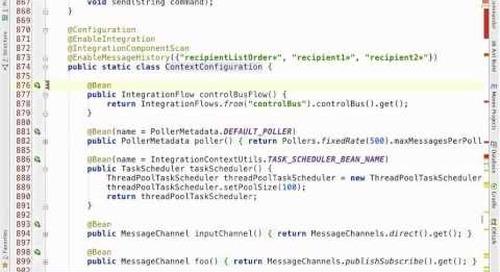 Webinar: Introducing the Java DSL for Spring Integration