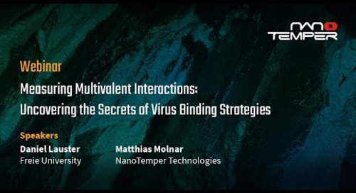 Measuring multivalent interactions: uncovering the secrets of virus binding strategies
