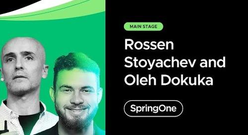 Rossen Stoyanchev and Oleh Dokuka at SpringOne 2021