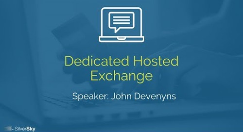 Dedicated Hosted Exchange
