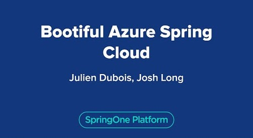 Bootiful Azure Spring Cloud