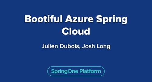 Bootiful Azure Spring Cloud