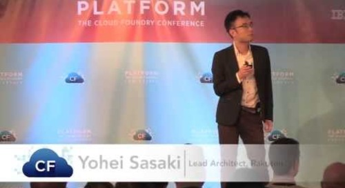 Cloud Foundry at Rakuten (Platform: The Cloud Foundry Conference 2013)
