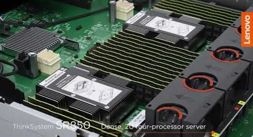 Lenovo ThinkSystem Servers -- Transform Your Data Center