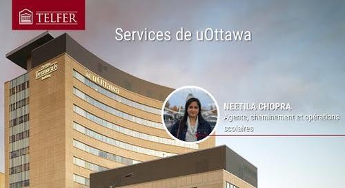 Services de uOttawa