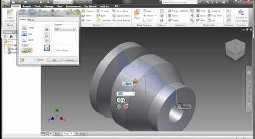 Inventor 2011 - Part Enhancements