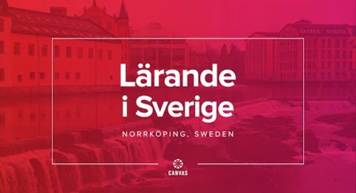 Lärande i Sverige & Canvas: Personalized Learning - Video