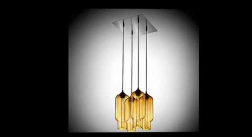 Amber Modern Chandeliers