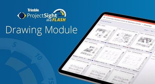 ProjectSight in a Flash - Drawings