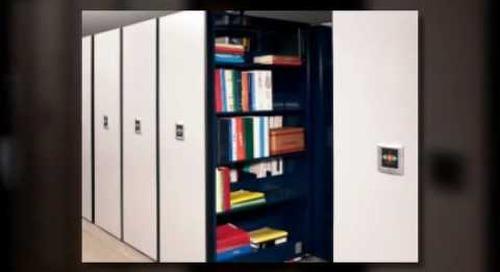 Compact Condensed High Density Files Shelving Racks Houston Texas Ph 713-467-4454