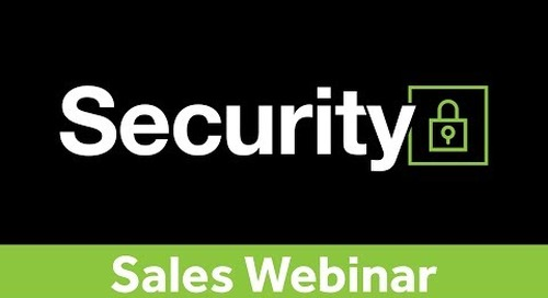 Selling Network Security - Webinar