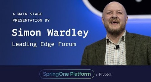 Simon Wardley, Leading Edge Forum at SpringOne Platform 2017