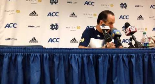 Mike Brey Press Conference (2-13-14)