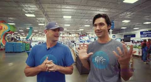RetailMeNot Challenges Tennis Star Andy Roddick to a Two Minute Shopping Spree