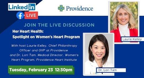 Her Heart Health: Spotlight on Women's Heart Program