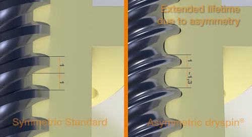 dryspin lead screw technology