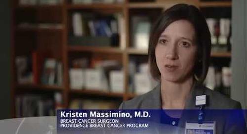 Providence Wellness Watch KGW Feb 2018 30 Breast Cancer Surgery Massimino