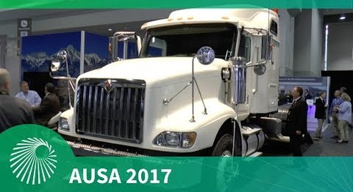 AUSA 2017: Navistar's Heavy Equipment Transport (HET)