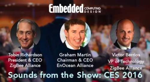ZigBee, EnOcean partner for energy-efficient IoT transport – CES 2016 interview
