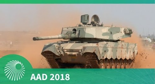 AAD 2018: Olifant Mk2 vehicle mobility demonstration