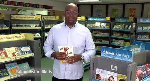 Kwame Alexander Supports AllBooksForAllKids