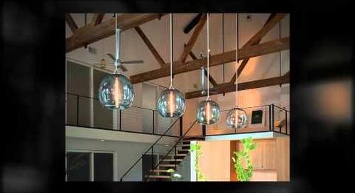 Niche Modern Handmade Glass Stamen Pendant Light