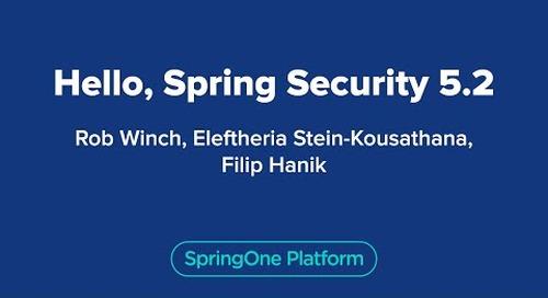 Hello Spring Security 5.2