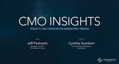 CMO Insights: Cynthia Gumbert, SVP of Marketing and Analytics, Quick Base