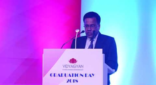 Mr. Bishwajit Banerjee, Principal of VidyaGyan Bulandshahr   VidyaGyan Graduation Day 2018