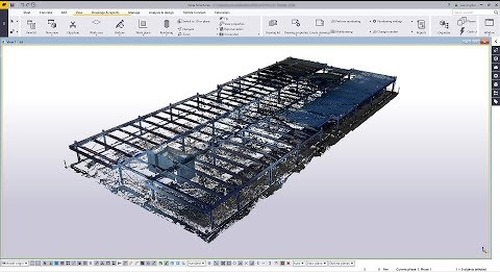 Tekla Structures 2018 New Feature - Point Clouds