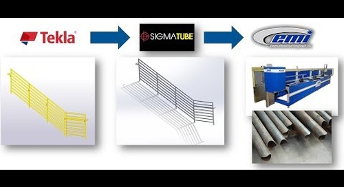 Tekla Partner Spotlight: Linking Tekla with SigmaTUBE and EMI
