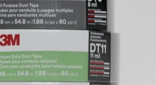 Rubans pour conduits 3M de Série DT - teaser vidéo