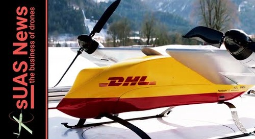 Delivery Drones   DHL steals UPS thunder